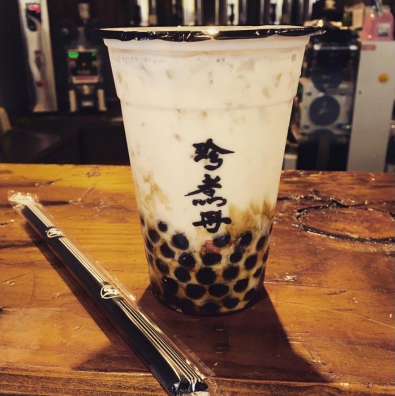 黒糖タピオカミルク(黒糖珍珠鮮奶)