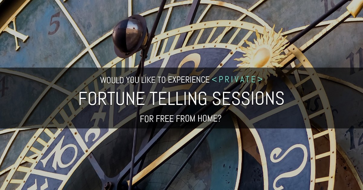 Apply Now To Be 1 Of Our 10 Fortune Telling Students!