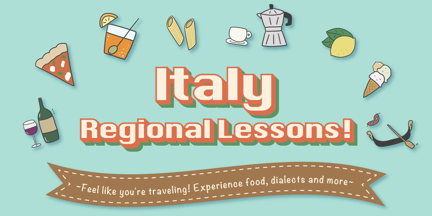 Italy regional lessons!
